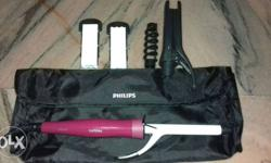 5 in 1 philips hair straightener! only 7 month old