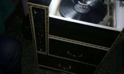 60 years old stereo gramophone usb fm with record