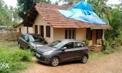 6.5 cents land alongwith 1200sft mangalore tiled roof