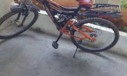 6 months old rarely used Mx70 bicycle