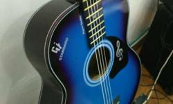6 strings acoustic guitar for sale, this guitar is very