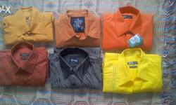 branded, unused, 6shirts, one t-shirt, 2 ladies cargo