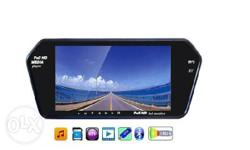 "7"" Rear View Mirror Screen With Bluetooth,USB,SD Card-7"