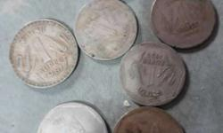 7 pices indian old coins only 700
