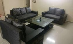 3 seater : 7 *3 ft. 2 seater: 6*3 ft. 2 seater : 6*3
