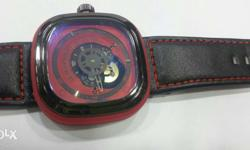 Imported look men square wrist watch