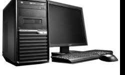 Intel core2duo processor 500gb hard drive 2gb ram 19""
