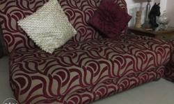 8 seater sofa set with new upholstery.