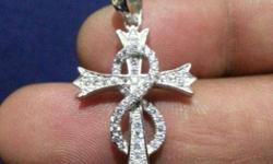 92.5 Hallmark Silver Cross Pendents. Fine finished