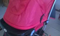9 months old branded stroller /pram along with walker