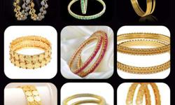 A desiners Collection Of Bangles..! Wear N Shine Your