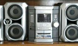 A 3300 watt. SONY music system purchased in 2003 at �