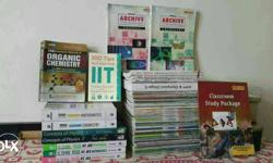 A Complete set of books including FIITJEE materials to