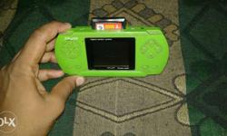 a good condition psp with extra game chip and charger