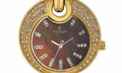 Gold Plated, Stone Studded Titan Watch Purchased in Rs.