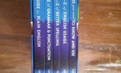 A set of 5 book which emproves your english language.