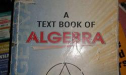 A Textbook Of Algebra By Dr. K. C. Sinha