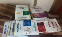 Aakash institute medical entrance books .and books are