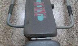 Ab King make Ab Exerciser in excellent condition for