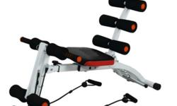 ABS six pack care Exercise Equipment - Black Orange And