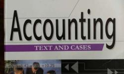 Accounting Text And Cases Book