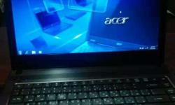 Acer 4333 Laptop Brown Colour 2GB Ram 250 GB Hard disk
