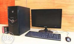 Acer - branded desktop with Core 2 duo processor 2GB