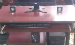 Acer monitor is in very good condition. CPU and