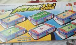 Action 6-in-1 Game Box