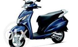 Rent an activa Rs. 2750/month rentomojo,free