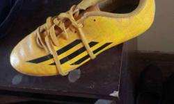Adidas Messi Golden edition boot used in world cup 14