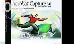 Adobe Acrobat Capture 3.0 is no more available for
