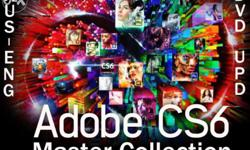 Adobe Creative Suite 6 Master Collection Products in