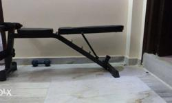 Aerofit brand sit up bench used not even 4 or 5 times