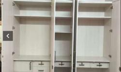 new best and both side storage five door wardrobe with