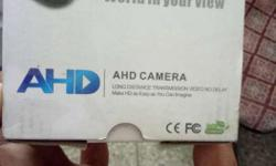 AHD Camera 1mp new 10 days use only