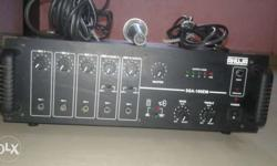 AHUJA 250 WATT amplifier. 2 months used only .with