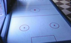 Air hockey table (8x4 feet) with electronic score