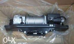 Aisinn 12000 lbs winch in mint condition and is with