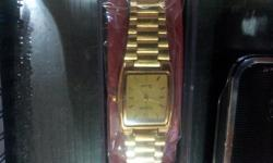 Type: Watches Ajanta Wrist Watch Gold Plated