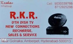 Dishtv services signal settings room shifting for any