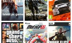 All latest pc games are available at very reasonable