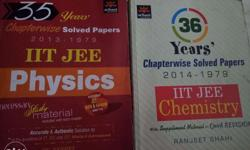 All previous year's IIT books chemistry and physics(36