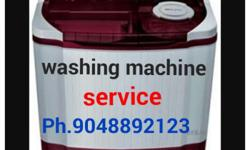 all types washing machine service in tvm