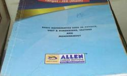 Allen books for JEE A stream. Syllabus from standard 11