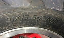 Big size tires and alloys for sale or exchange sutable