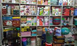 Aman plastic & Gift house all items in a shop for sale