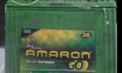Working amaron battery for fout wheeler. I was using