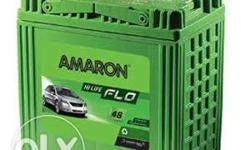 Amaron new battery just 6 months old with bill 3500