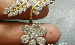 Beautiful design two fingers ring good quality